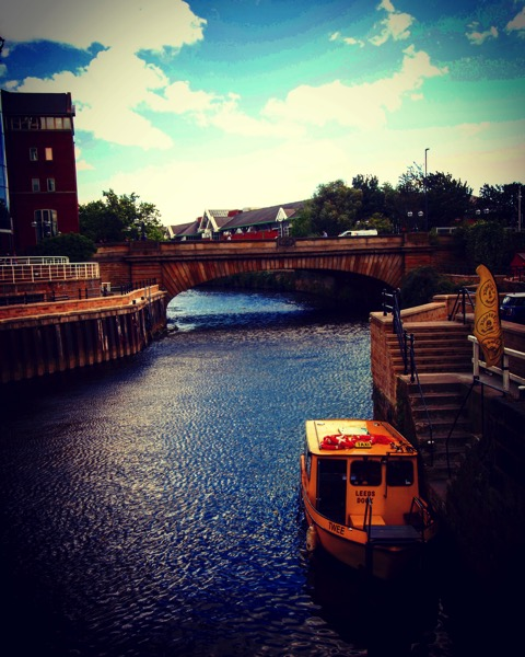 "Water Taxi ""Twee"", River Aire, Leeds, UK [Photo]"