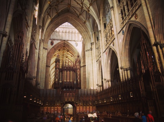 Choir, York Minster, York, UK #architecture #history #travel #york #uk