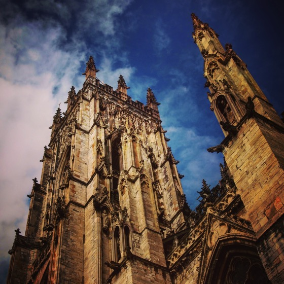 York Minster Tower Exterior, York, UK #york #uk #travel #architecture #history
