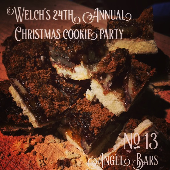 No. 13 Angel Bars | Welch's 24th Annual Christmas Cookie Party
