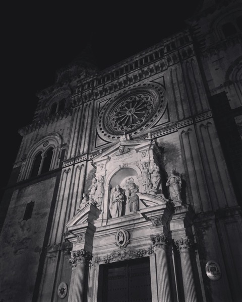 Church in Acireale, Sicily, Italy [Photo]