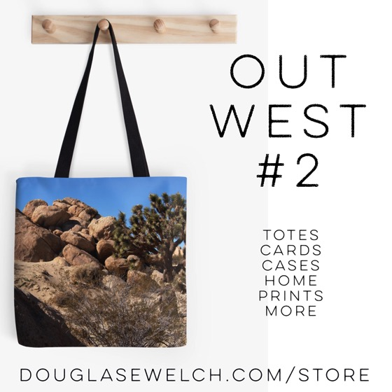 Out West #2 Totes and Much More Exclusively from Douglas E. Welch