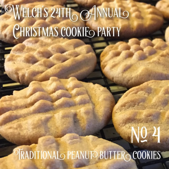 No 4 Traditional Peanut Butter Cookies Welch S 24th Annual