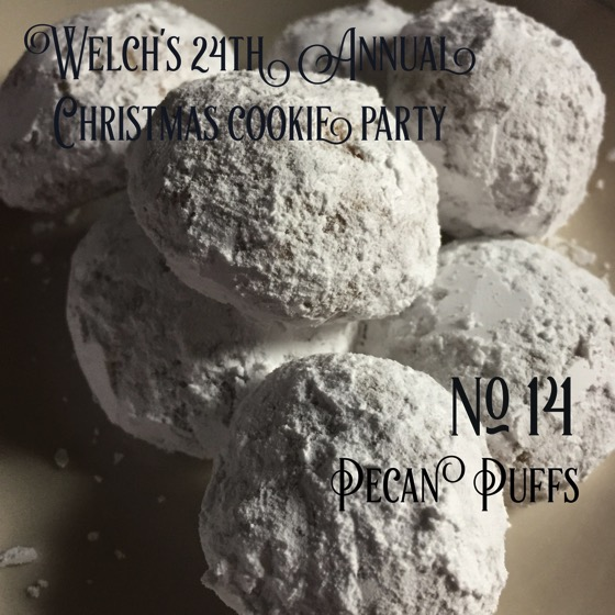 No. 14 Pecan Puffs | Welch's 24th Annual Christmas Cookie Party