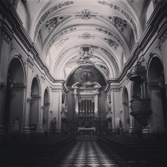 Santuario Sant'Alfio, Trecastagni, Sicily, Italy