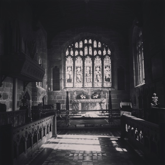 St. Mary's Church Interior, Thirsk, Yorkshire, UK