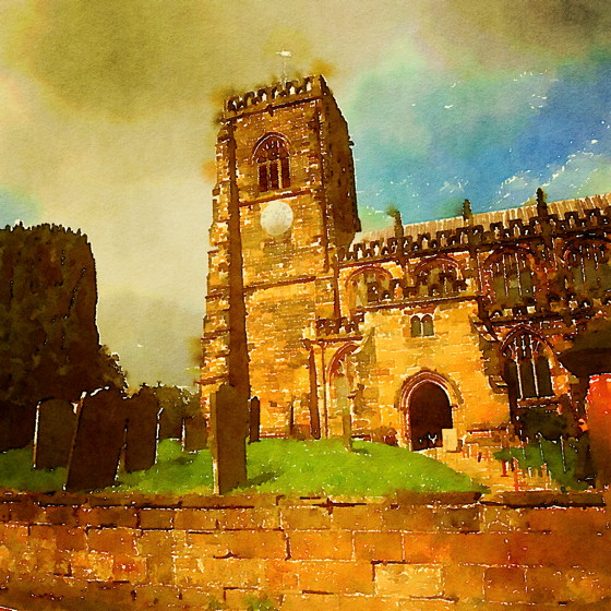 St. Mary's Church, Thirsk, Yorkshire, UK