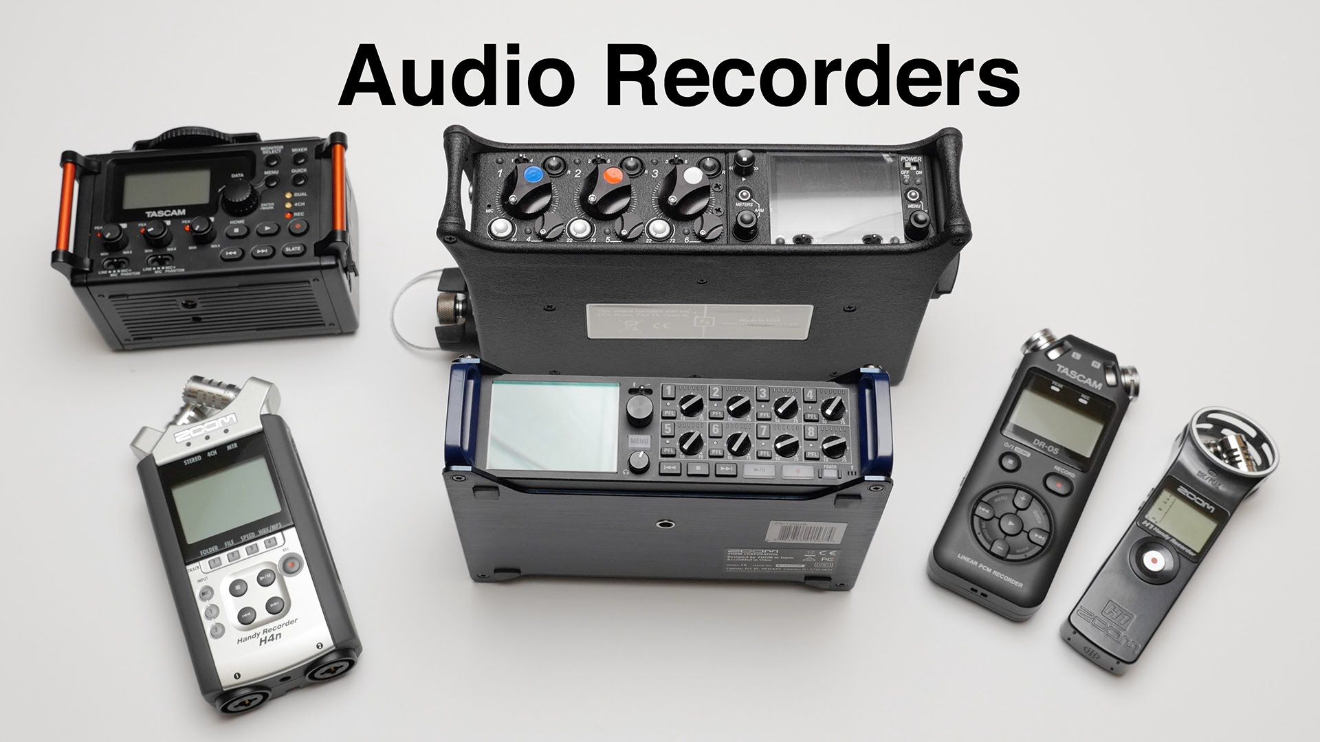On YouTube: Which Audio Recorders for Filmmaking Do I Still Use?