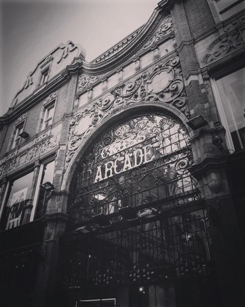 Cross Arcade, Leeds, UK