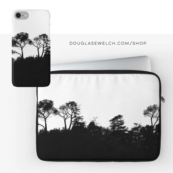 """""""Ridgeline Silhouette"""" iPhone/Samsung Cases, Laptop Bags and Much More!"""