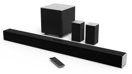 VIZIO SB3851-C0 38-Inch 5.1 Channel Sound Bar with Wireless Subwoofer and Satellite Speakers (2015 Model) [Product]