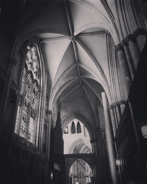 York Minster Interior, York, UK 🇬🇧