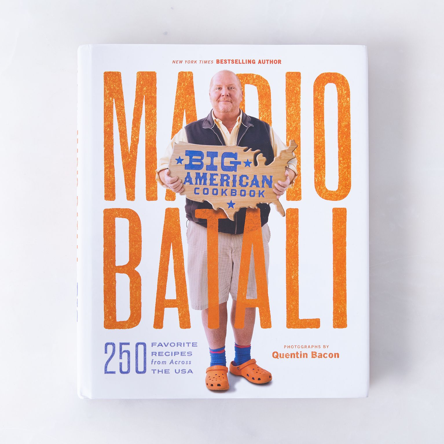 New Cookbook: Big American Cookbook: 250 Favorite Recipes from Across the USA by Mario Batali