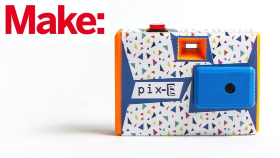 On YouTube: Weekend Project: The Pix-E GIF Camera
