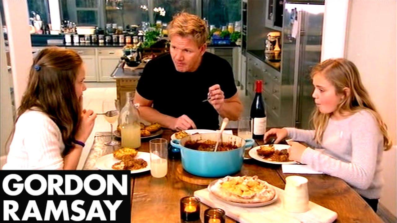 On YouTube: Beef & Ale Stew with Mustard Dumplings   Gordon Ramsay