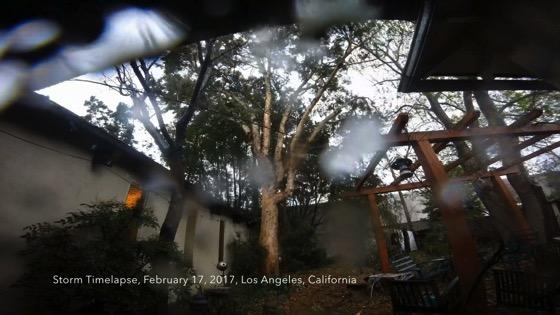 Storm Timelapse, Los Angeles, California, February 17, 2017