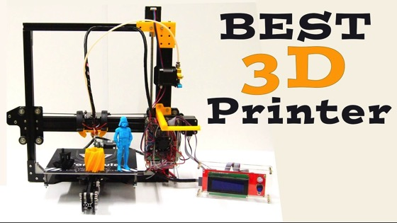 On YouTube: Best 3D Printer Under $200 - Tevo Tarantula Full Review
