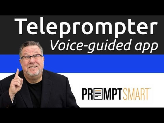 On YouTube: PromptSmart - Intelligent Teleprompter for your iPhone and iPad