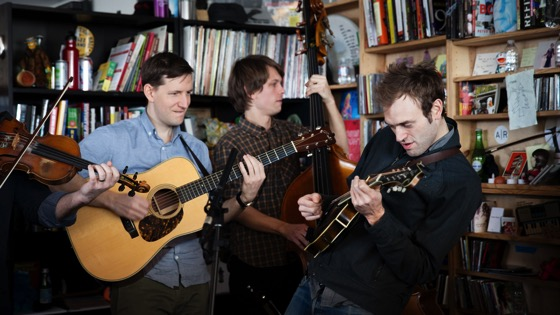 On YouTube: Punch Brothers: NPR Music Tiny Desk Concert