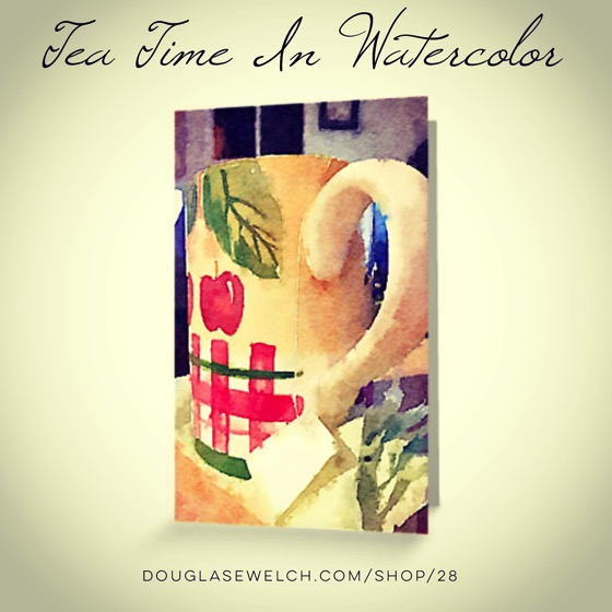 Tea Time in Watercolor Cards and More!