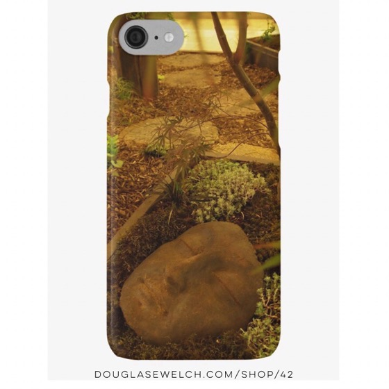 A Face in the Garden iPhone and Samsung Cases
