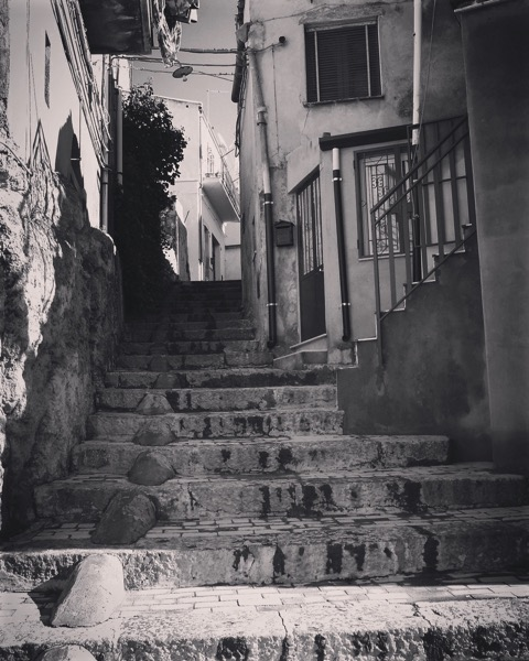 Sicilian Steps in Agira