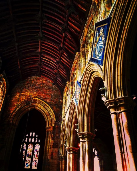 St. Mary's Church Interior, Thirsk, UK