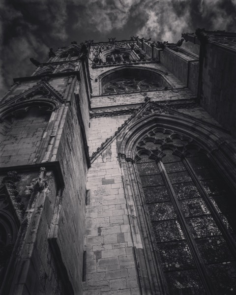 York Minster Rises Against The Sky