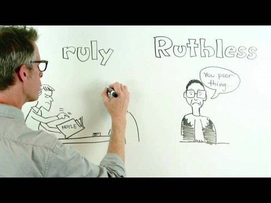 On YouTube: Words That Have Lost Their Better Halves by Akira Okrent