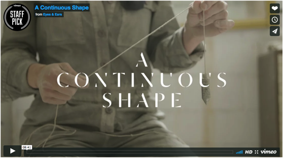 A Continuous Shape via kottke.org