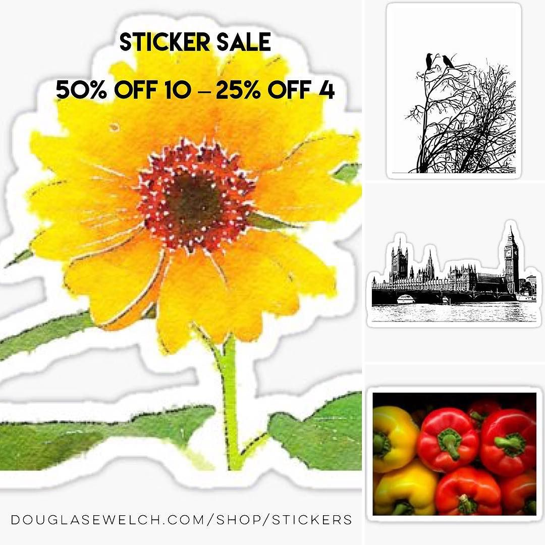 25% to 50% OFF – Make your school year more stickery! 😀 More stickers, more savings!
