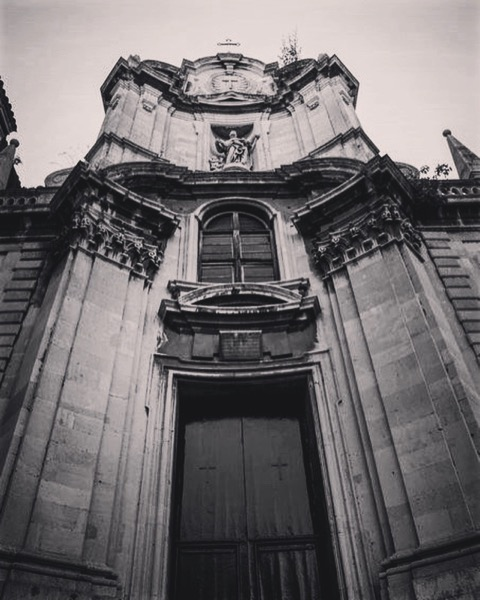 Church in Catania, Sicily via Instagram