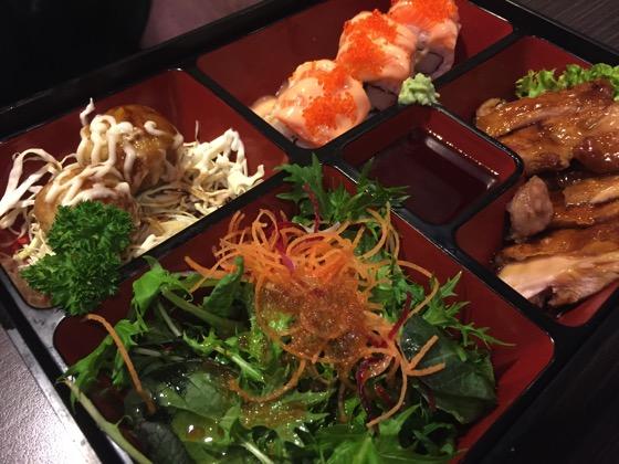 Bento Box Dinner at Origami, Wellington, New Zealand via Instagram