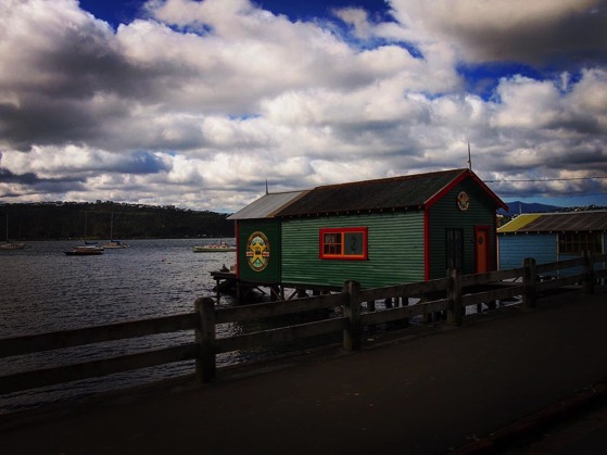 Boat House on Evans Bay, Wellington, New Zealand via Instagram
