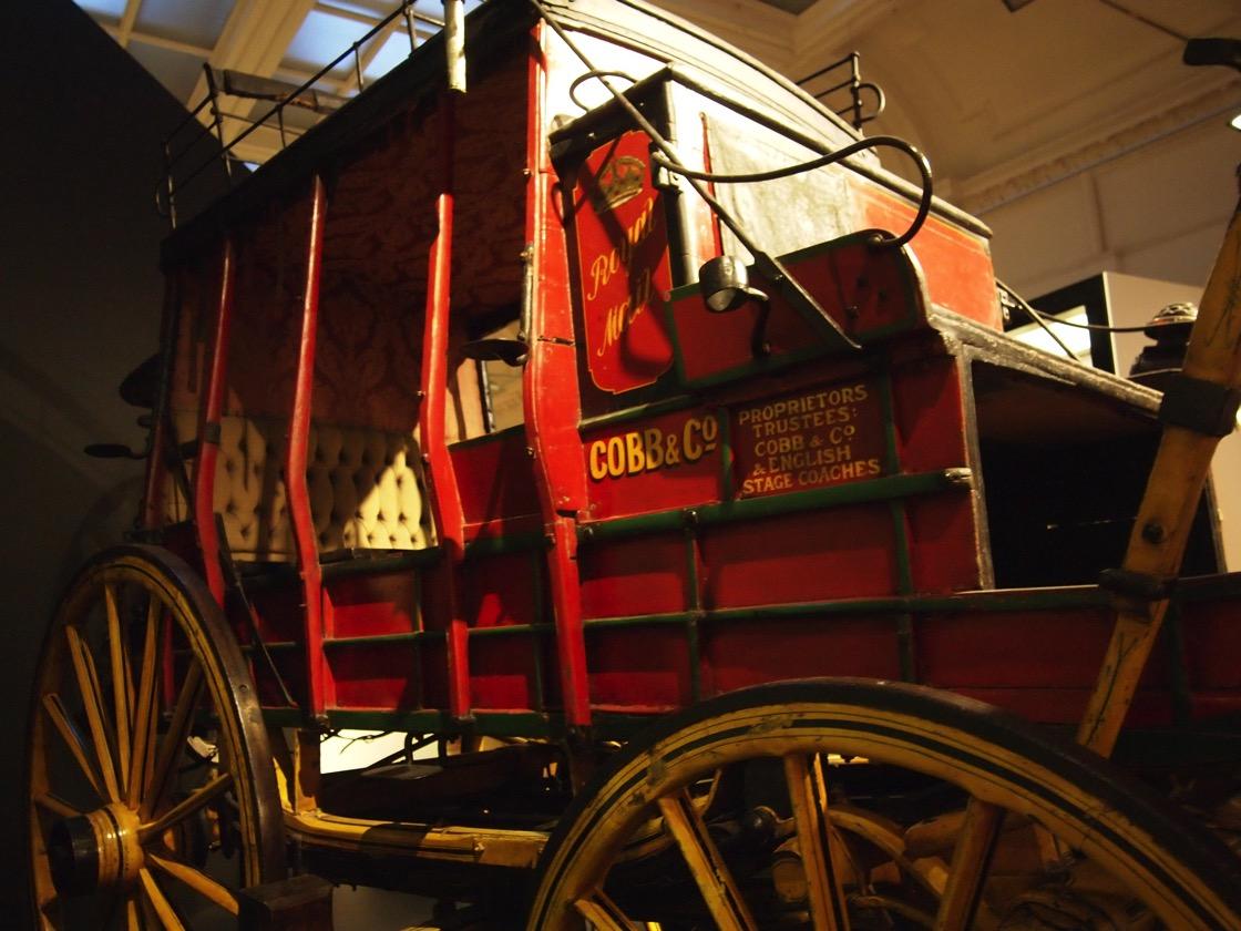 Coach Otago Settlers Museum Dunedin New Zealand