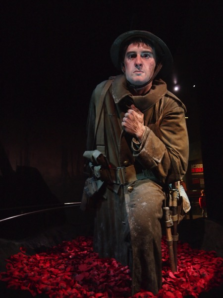 Soldier, Amazing Sculpture, Gallipoli: The Scale of Our War Exhibit via Instagram