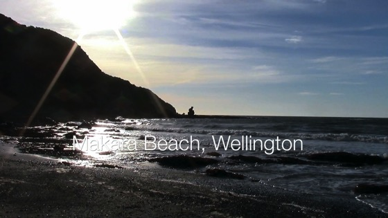 Makara Beach, Wellington - A Minute in New Zealand