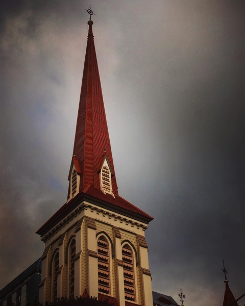 Church Steeple, Wellington, New Zealand