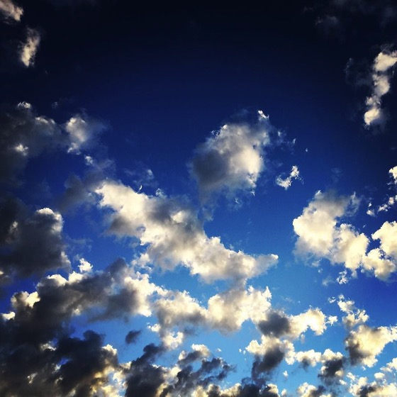 Amazing clouds over Van Nuys yesterday via Instagram