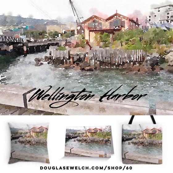 Wellington Harbor Prints, Housewares and Much More!