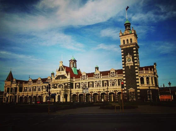 Dunedin Railway Station, Dunedin, New Zealand via Instagram