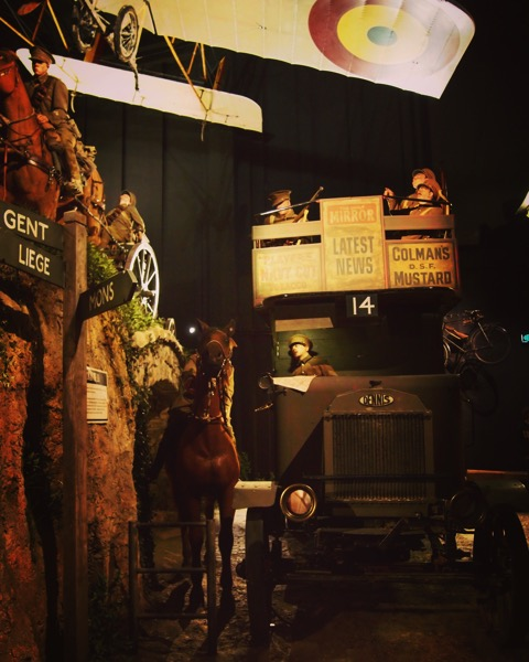 Life-size Diorama, The Great War Exhibition, Wellington, New Zealand