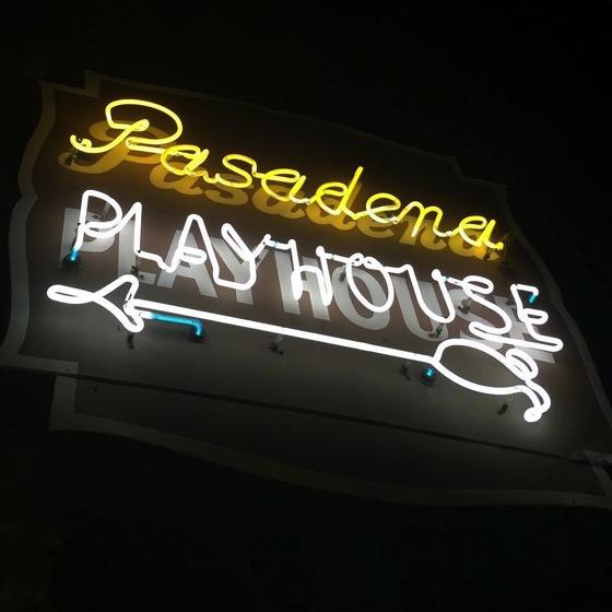 This way to the Pasadena Playhouse via Instagram