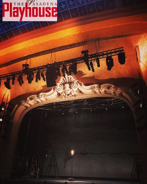 Time for Our Town at the Pasadena Playhouse via Instagram