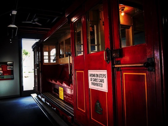 Original Wellington Cable Car in Cable Car Museum via Instagram