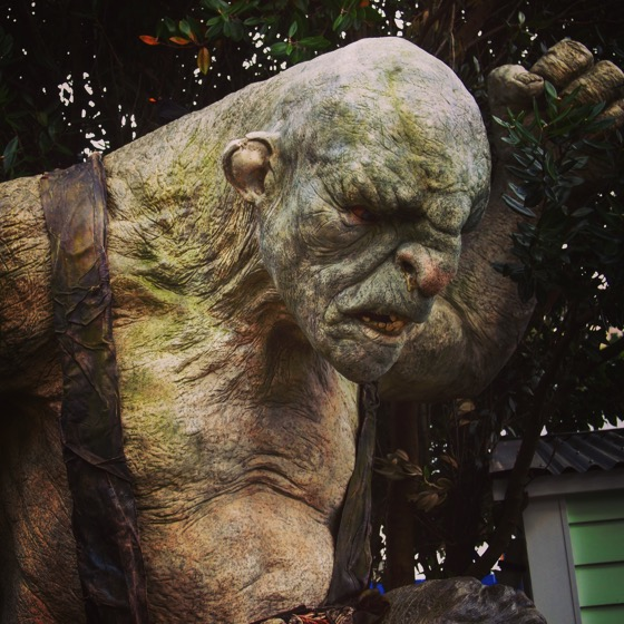 Another troll at the Weta Cave via Instagram
