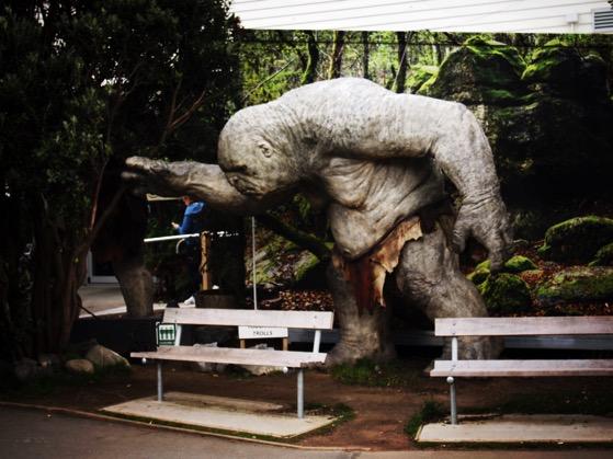 Weta Cave has a bit of a troll problem via Instagram