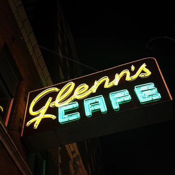 Glenn's Cafe Neon, Columbia, Missouri via Instagram