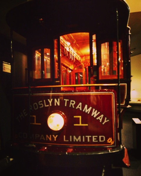 Historic Tram, Toitū Otago Settlers Museum, Dunedin, New Zealand via Instagram