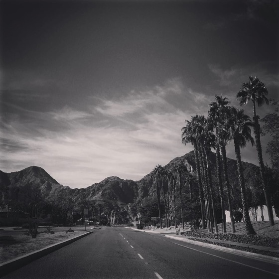 My Los Angeles 17 - In the desert via Instagram